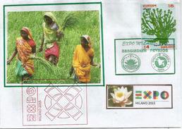 BANGLADESH. UNIVERSAL EXPO MILANO 2015, Letter From The Pavilion Of Bangladesh, With Bangladesh Stamp - Bangladesh