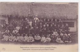 Asie - Vi^t-Nam - Prêtre Tonkinois Missionnaires Et Fanfare Paroissiale (Tonkin) - Viêt-Nam