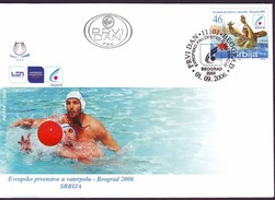 SERBIA - SRBIJA - WATER POLO - EMBLEM EUROPA CHAMP. - 2006