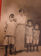 Chatuzange Le Goubet Femme Et Enfants En Marins  -Photographie Originale Photo/carte Postale RPPC Réal Photo Post Card - Lugares
