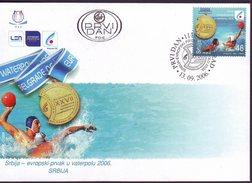 SERBIA - SRBIJA - WATER POLO - EMBLEM EUROPA CHAMP - MEDAL WINNER. - 2006
