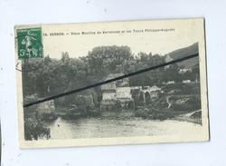 CPA - Vernon - Vieux Moulins De Vernonnet Et Les Tours Philippe Auguste - Vernon