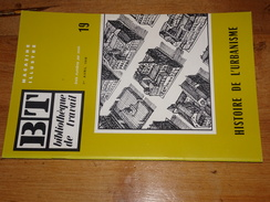 BT N°19, Histoire De L'urbanisme, 1948, Ville, Rempart, Pont, Gargouille, Cimetière, Egout, Fontaine... Freinet - Storia