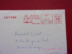 EMA Les Ateliers Du Val De Selle CONTY 30-12-2002 - Poststempel (Briefe)