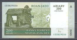 Madagascar Ariary 200 Neuf ** - Madagaskar