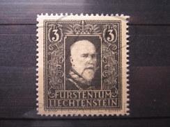 BEAU TIMBRE DU LIECHTENSTEIN N° 153 , X !!! - Liechtenstein