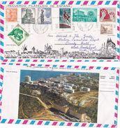1973 Illus Mallorca SPAIN COVER AERONAUTICA CONGRESS, HORSE, CASTLE ART  Etc Stamps Space - 1931-Hoy: 2ª República - ... Juan Carlos I
