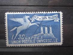 BEAU TIMBRE EXPRESS DE SAINT - MARIN N° 15 , XX !!! - Eilpost