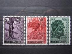 BEAUX TIMBRES DU LIECTENSTEIN N° 339 - 341 , XX !!! - Liechtenstein