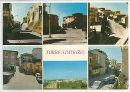 ASCOLI PICENO (069) - TORRE S. PATRIZIO (vedute) - FG/Vg 1979 (spedita, Con Firma, Dal Parroco) - Ascoli Piceno