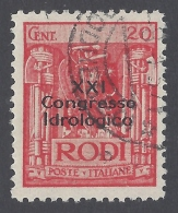 ITALY 1930 EGEO XXI CONGRESSO IDROLOGICO Nº 14