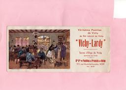 BUVARD - Véritables Pastilles De Vichy - VICHY LARDY - Sucreries & Gâteaux