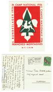 Scoutisme // 5ème Camp National 1956 Franches-Montagnes Du 24.07. 1956 Au 02.08.1956 - Scoutisme