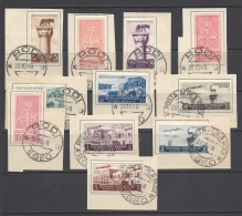 ITALY 1940 MOSTRA TRIENNALE Nº 111/117 + A52/A55 - Egeo