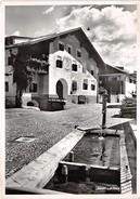 Scuol, Schuls, Dorfstrasse - GR Grisons