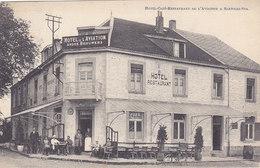 Sart-lez-Spa - Hotel Café Restaurant De L'Aviation (A.Brouwers, épicerie, Desaix, 1924, Animée) - Spa