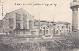 Sclessin - Usine D'Electricité Du Pays De Liège (petite Animation, F. Evrard, 1909) - Seraing