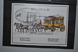 Belgique 1982 BF Premier Jour MNH - Blocs 1962-....