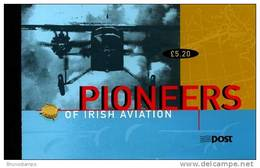 IRELAND/EIRE/IRLAND - 1998 PIONEERS OF AVIATION PRESTIGE BOOKLET FINE USED - Libretti