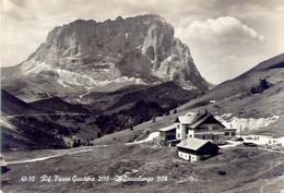 Rifugio Passo Gardena - Il Sassolungo - Trento - 40-52 - Formato Grande Non Viaggiata - E - Trento