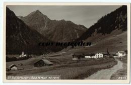 St. Siegmund Im Sellrain, St. Sigmund, Alte Foto Ak Ansichtskarte 1940 - Sellrein
