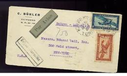 1935 Haiphong Saigon Viet Nam Cochinchine Cover To USA Via Marseille France - Vietnam