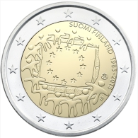 """Pièce 2 Euros Commémorative  UNC France  """"  Drapeau Européen  """" - Frankreich"""