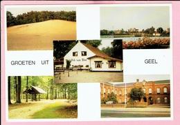 Groeten Uit Geel - 5 Zichtenkaart Met Ark Van Noë - Geel