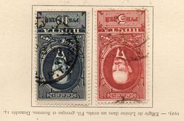 RUSSIE (U.R.S.S.) - 1925 - N° 336 Et 337 - (Effigie De Lénine) - (Dentelés 10 1/2) - 1923-1991 USSR
