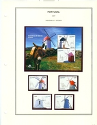 Portugal Azores 503-507 Windmills Set And Souvenir Sheet Block MNH 2007 A04s - Colonies & Territories – Unclassified