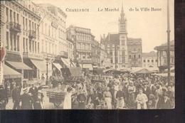 Charleroi - Le Marché - 1917 - Stempel! - Timbre Spécial - Feldpost - Koniglich Preussicher Des Vereinslazarettzuges - Charleroi