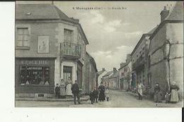 Morogues  18    La Grande-Rue  Tres Tres Animée _Epicerie Et Boucherie - France