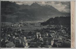 Niederurnen - Mürtschenstock, Fronalp, Schilt, Freiberge - Photo: H. Luchsinger - GL Glarus