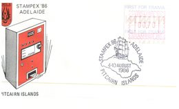 (303) Australia FDC Cover - 1986 Adelaide Stampex - FDC