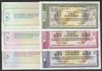 Argentina 10,20,50 Australes B.Aires 1985 UNC X 3 PCS  [ Argentijnse Argentine ) - Argentinië