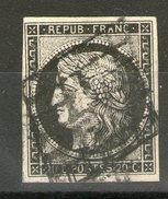 N° 3°_sur Ivoire_4 Filets - 1849-1850 Cérès