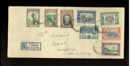 1940 Southern Rhodesia  Registered Cover - Great Britain (former Colonies & Protectorates)