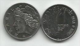 Brazil 1 Centavo 1975. UNC FAO - Brésil