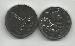Brazil 1 Centavo 1967. High Grade - Brésil