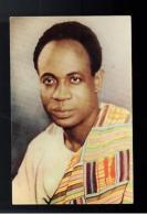 1958 Ghana  Kwane Kkrumah Visit To USA RPPC Postcard Cover - Ghana (1957-...)
