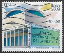 Italy SG3130 2008 Italia 2009 International Festival Of Philately 60c Good/fine Used [33/28279/7D] - 6. 1946-.. Repubblica