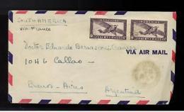 1946 Saigon Vietnam Airmail Cover To Argentina - Vietnam