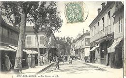 Algérie   Sidi Bel Abbès  Rue Byron   CPA 1907 - Sidi-bel-Abbes