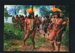 BRASIL NATIVO  -  Moças E Mulheres - Xingu River -  Recto Verso   Paypal Sans Frais - Natal