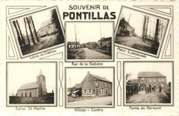Pontillas - Souvenir De ... -Carte Multivues  ( Voir Verso ) - Fernelmont