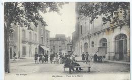 Cpa  -34-  Aspiran Place De La Mairie - France