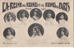 Paris - La Reine Des Reines Et Les Reines De Paris  - 1914 : Achat Immédiat - Altri