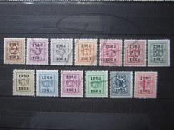 BEAUX TIMBRES DE BELGIQUE N° PRE699 - PRE711 , XX !!! - Typo Precancels 1951-80 (Figure On Lion)