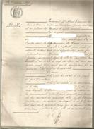 COIRAC , CANTON DE SAUVETERRE : NOTORIETE , 1897 - Manuscrits