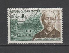 FRANCE / 1966 / Y&T N° 1475 : Hippolyte Taine - Usuel (1970) - Oblitérés
